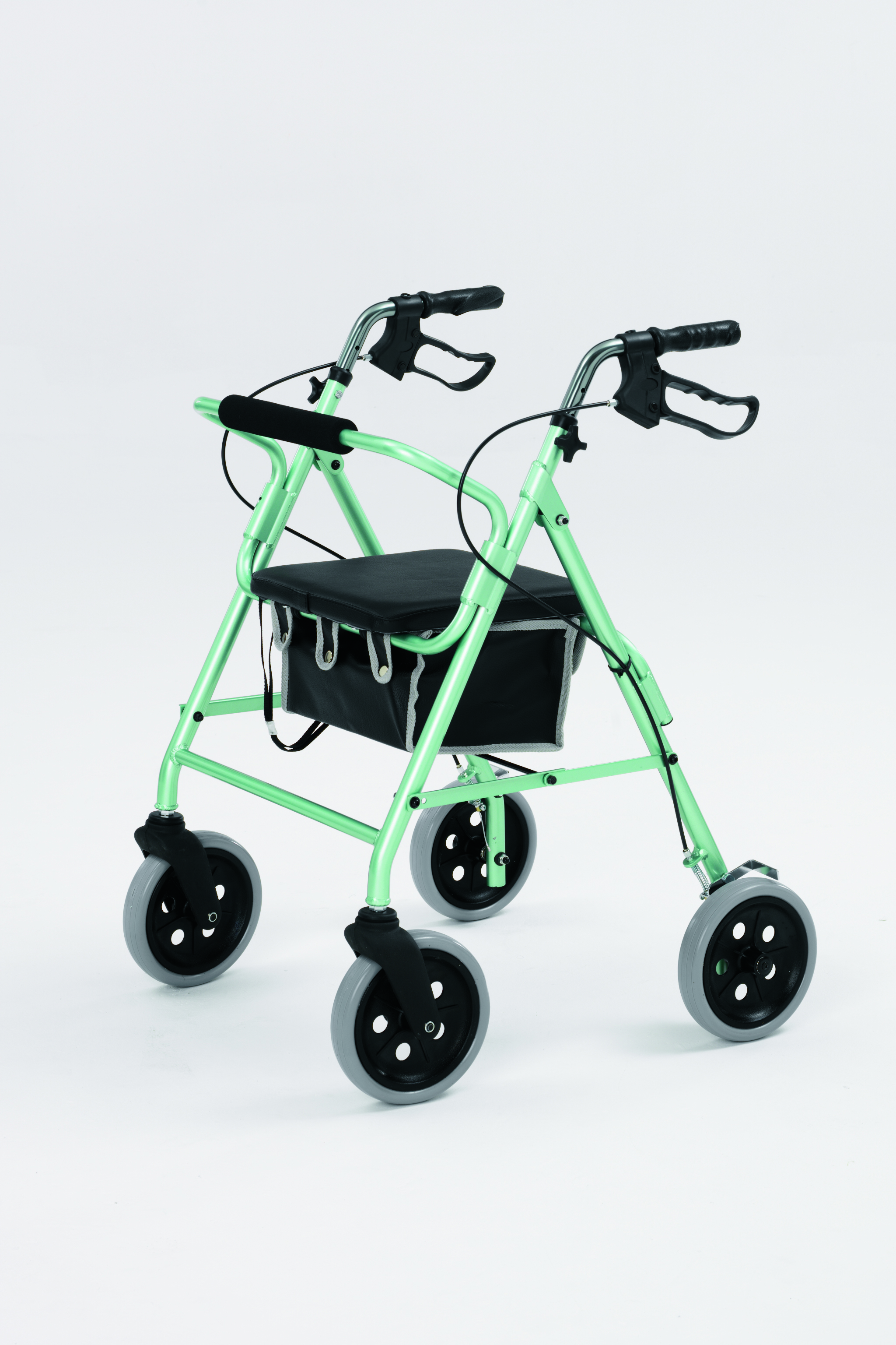 Light Weight Aluminium Rollator Walking Aide