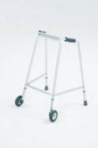 Light Weight Walking Frame With Wheels Frame